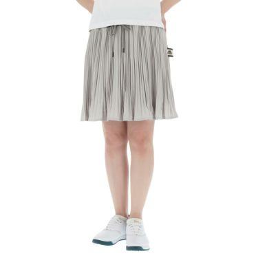 【ss特価】△カッパ レディース アコーディオンプリーツ スカート KC922SK72 ゴルフウェア [春夏モデル 50%OFF] 特価 グレー(GR)