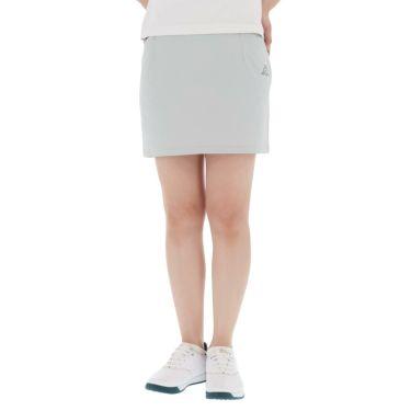 【ss特価】△カッパ レディース 撥水 ロゴプリント スカート KG922SK84 ゴルフウェア [春夏モデル 50%OFF] 特価 シルバー(SI)