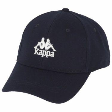 【ss特価】△カッパ メンズ ロゴ刺繍入り キャップ KGA18HW03 NV ネイビー [2020年モデル] ゴルフウェア [50%OFF] 特価 ネイビー(NV)