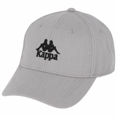 【ss特価】△カッパ メンズ ロゴ刺繍入り キャップ KGA18HW03 SI シルバー [2020年モデル] ゴルフウェア [50%OFF] 特価 シルバー(SI)