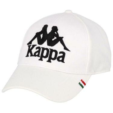 【ss特価】△カッパ メンズ ロゴ刺繍 キャップ KGA18HW11 WT ホワイト [2020年モデル] ゴルフウェア [50%OFF] 特価 ホワイト(WT)