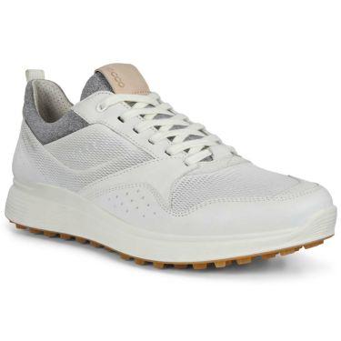 ecco エコー S-CASUAL エス カジュアル メンズ スパイクレス ゴルフシューズ 102804 01007 WHITE WHITE(01007)