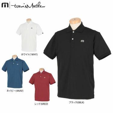 トラヴィスマシュー Travis Mathew メンズ ロゴ刺繍 鹿の子 半袖 ポロシャツ 7AD011 2021年モデル 詳細1