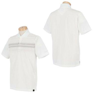 トラヴィスマシュー Travis Mathew メンズ ロゴ刺繍 ランダムボーダー柄 半袖 ポロシャツ 7AD013 2021年モデル 詳細3