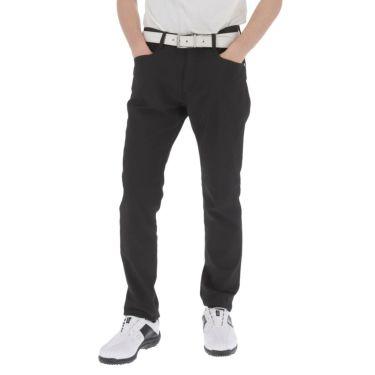 トラヴィスマシュー Travis Mathew メンズ ロゴ刺繍 5ポケット ストレッチ ロングパンツ 7AD006 2021年モデル [裾上げ対応1●] ブラック(0BLK)