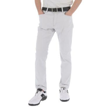 トラヴィスマシュー Travis Mathew メンズ ロゴ刺繍 5ポケット ストレッチ ロングパンツ 7AD006 2021年モデル [裾上げ対応1●] ライトグレー(0LGR)