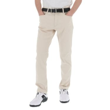 トラヴィスマシュー Travis Mathew メンズ ロゴ刺繍 5ポケット ストレッチ ロングパンツ 7AD006 2021年モデル [裾上げ対応1●] ライトカーキ(2LKH)