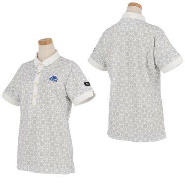 カッパ Kappa レディース 総柄 半袖 ポロシャツ KGA22SS61 2020年モデル 詳細3