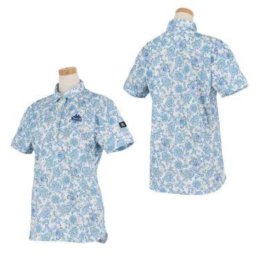カッパ Kappa レディース ペイズリー柄 半袖 ポロシャツ KGA22SS68 2020年モデル 詳細3