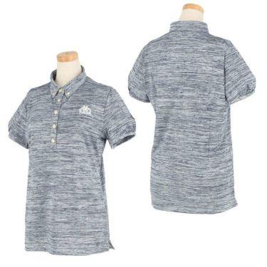 カッパ Kappa レディース 杢調 半袖 ボタンダウン ポロシャツ KGA22SS73 2020年モデル 詳細3