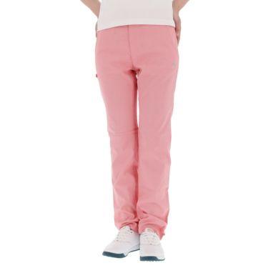 【ss特価】△カッパ レディース マイクロ千鳥格子柄 ストレッチ ロングパンツ KGA22PA66 [2020年モデル] ゴルフウェア [春夏モデル 50%OFF] 特価 [裾上げ対応1] ピンク(PK)