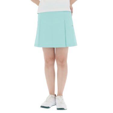 【ss特価】△カッパ レディース 撥水 ロゴワッペン プリーツ スカート KGA22SK67 [2020年モデル] ゴルフウェア [春夏モデル 50%OFF] 特価 ターコイズ(TQ)