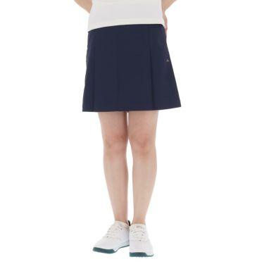 【ss特価】△カッパ レディース 撥水 ロゴワッペン プリーツ スカート KGA22SK67 [2020年モデル] ゴルフウェア [春夏モデル 50%OFF] 特価 ネイビー(NV)