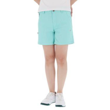 【ss特価】△カッパ レディース ロゴワッペン ショートパンツ KGA22SP64 [2020年モデル] ゴルフウェア [春夏モデル 50%OFF] 特価 ターコイズ(TQ)