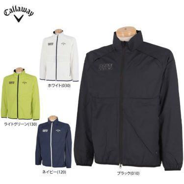 キャロウェイ Callaway メンズ 撥水 リップストップ メッシュ裏地 長袖 フルジップ ブルゾン 241-1115500 2021年モデル 詳細1