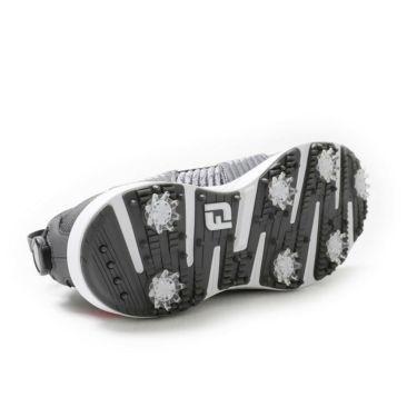 フットジョイ FootJoy ハイパーフレックス ボア 2021年モデル メンズ ゴルフシューズ 51083 グレー/レッド 詳細9