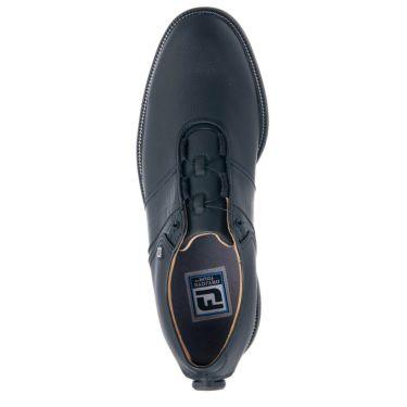 フットジョイ FootJoy ドライジョイズ プレミア パッカード ボア 2021年モデル メンズ ゴルフシューズ 53939 ブラック/ブラック 詳細4