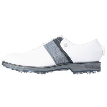 フットジョイ FootJoy ドライジョイズ プレミア パッカード ボア 2021年モデル メンズ ゴルフシューズ 53944 ホワイト/グレー/ブラック 詳細3