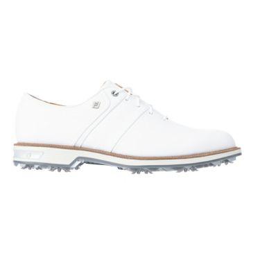 フットジョイ FootJoy ドライジョイズ プレミア パッカード レース 2021年モデル メンズ ゴルフシューズ 53931 ホワイト/ホワイト 詳細1