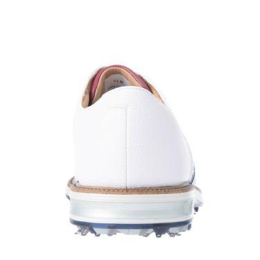 フットジョイ FootJoy ドライジョイズ プレミア パッカード レース 2021年モデル メンズ ゴルフシューズ 53932 ホワイト/ネイビー/レッド 詳細5