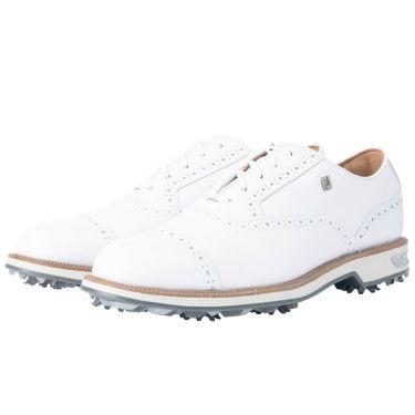 フットジョイ FootJoy ドライジョイズ プレミア ターロウ レース 2021年モデル メンズ ゴルフシューズ 53927 ホワイト/ホワイト ホワイト/ホワイト(53927)