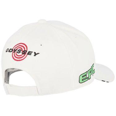 キャロウェイ メンズ 立体ロゴ刺繍 ツアー キャップ 241-1991503 030 ホワイト/ブラック 2021年モデル 詳細1