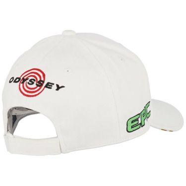 キャロウェイ メンズ 立体ロゴ刺繍 ツアー キャップ 241-1991503 039 ホワイト/ベージュ 2021年モデル 詳細1