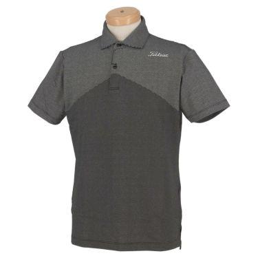タイトリスト Titleist メンズ ストレッチ 半袖 ポロシャツ TSMC2005 2020年モデル ブラック(BK)