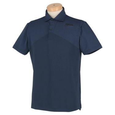 タイトリスト Titleist メンズ ストレッチ 半袖 ポロシャツ TSMC2005 2020年モデル ネイビー(NV)