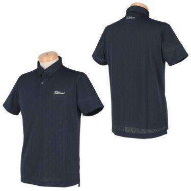 タイトリスト Titleist メンズ 総柄 メッシュ 半袖 ボタンダウン ポロシャツ TSMC2013 2020年モデル 詳細3