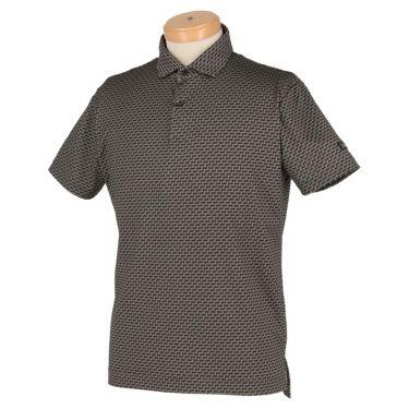 タイトリスト Titleist メンズ 総柄 ストレッチ 半袖 ポロシャツ TSMC2017 2020年モデル ブラック(BK)