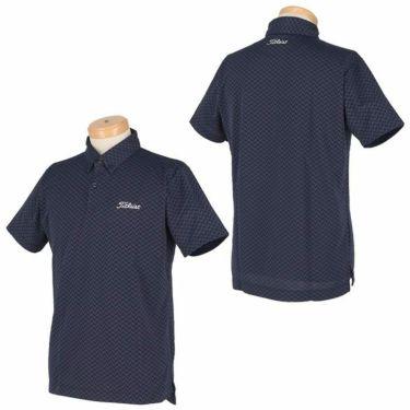 タイトリスト Titleist メンズ ヘリンボーン柄 半袖 ボタンダウン ポロシャツ TSMC2021 2020年モデル 詳細3