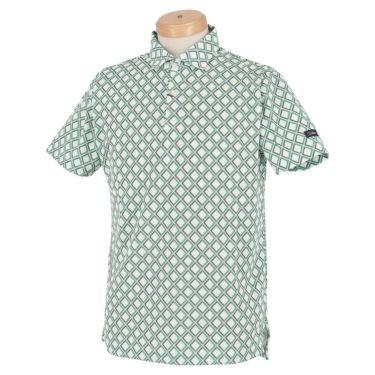 タイトリスト Titleist メンズ バイアスチェック柄 ストレッチ 半袖 ポロシャツ TSMC2024 2020年モデル グリーン(GN)