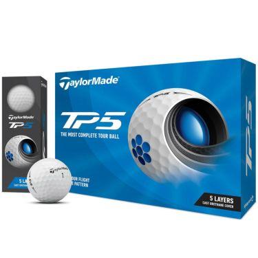テーラーメイド TP5 ゴルフボール 2021年モデル 1ダース(12球入り) ホワイト