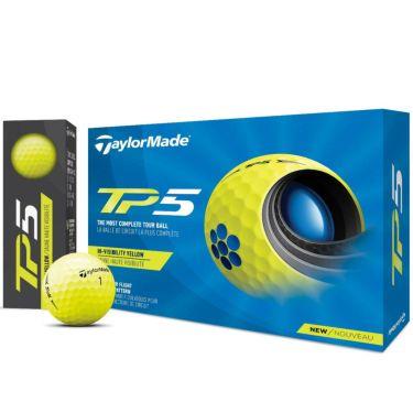テーラーメイド TP5 ゴルフボール 2021年モデル 1ダース(12球入り) イエロー