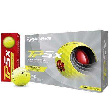 テーラーメイド TP5x ゴルフボール 2021年モデル 1ダース(12球入り) イエロー