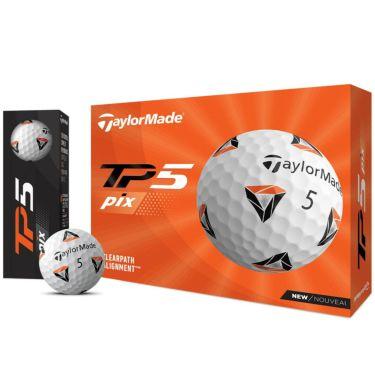 テーラーメイド TP5 Pix ゴルフボール 2021年モデル 1ダース(12球入り)