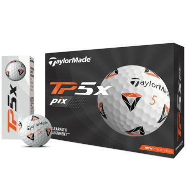 テーラーメイド TP5x Pix ゴルフボール 2021年モデル 1ダース(12球入り)