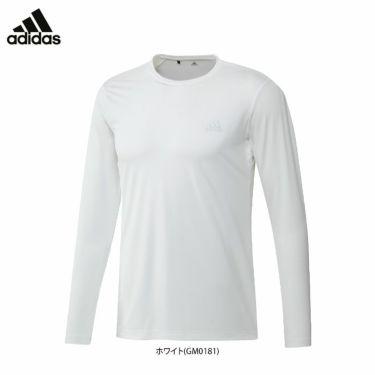 アディダス adidas メンズ ロゴプリント 長袖 クルーネック インナーシャツ 22676 2021年モデル 詳細1