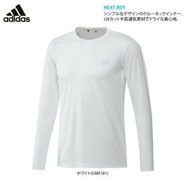 アディダス adidas メンズ ロゴプリント 長袖 クルーネック インナーシャツ 22676 2021年モデル 詳細2