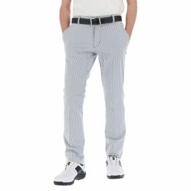アディダス adidas メンズ サッカー生地 EXストレッチ ロングパンツ 23082 2021年モデル [裾上げ対応1●] ネイビー/ホワイト(GM0776)