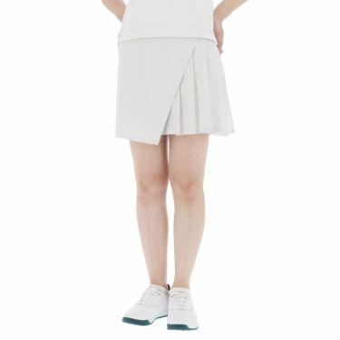 アディダス adidas レディース シャンブレー インナーパンツ付き プリーツ スコート 23128 2021年モデル ホワイト(GM0873)