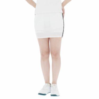 アディダス adidas レディース スリーストライプス インナーパンツ一体型 スコート 23272 2021年モデル ホワイト(GM3782)