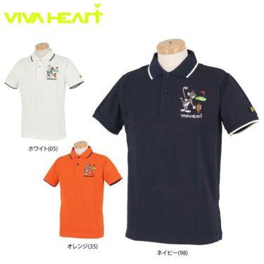 ビバハート VIVA HEART メンズ トムとジェリー コラボ 半袖 ポロシャツ 014-22440 2020年モデル 詳細1