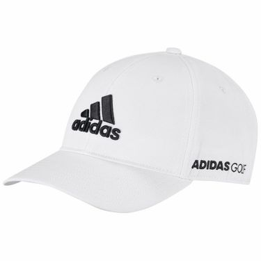 【ssプロパー】△アディダス メンズ 立体ロゴ刺繍 ツアー キャップ 22946 GL8896 ホワイト/ブラック ゴルフウェア [2021年モデル] ホワイト/ブラック(GL8896)