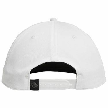 【ssプロパー】△アディダス メンズ 立体ロゴ刺繍 フラットブリム キャップ 27370 GJ7027 ホワイト ゴルフウェア [2021年モデル] 詳細1