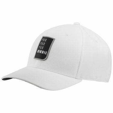 【ssプロパー】△アディダス メンズ シリコンバッチ キャップ EJZ35 GV2683 ホワイト ゴルフウェア [2021年モデル] ホワイト(GV2683)