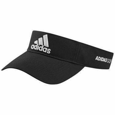 アディダス adidas メンズ 立体ロゴ刺繍 ツアー サンバイザー 22936 GL8905 ブラック/ホワイト 2021年モデル ブラック/ホワイト(GL8905)