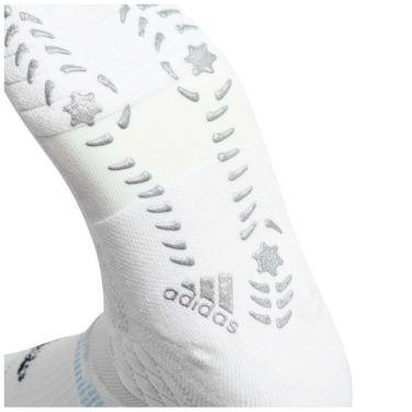 アディダス adidas メンズ マルチフィット 5本指 レギュラーソックス 22972 GL8888 ホワイト/ネイビー 2021年モデル 詳細2