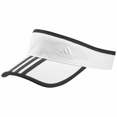 【ssプロパー】△アディダス レディース スリーストライプ ツイル サンバイザー 22897 GL8769 ホワイト ゴルフウェア [2021年モデル] ホワイト(GL8769)
